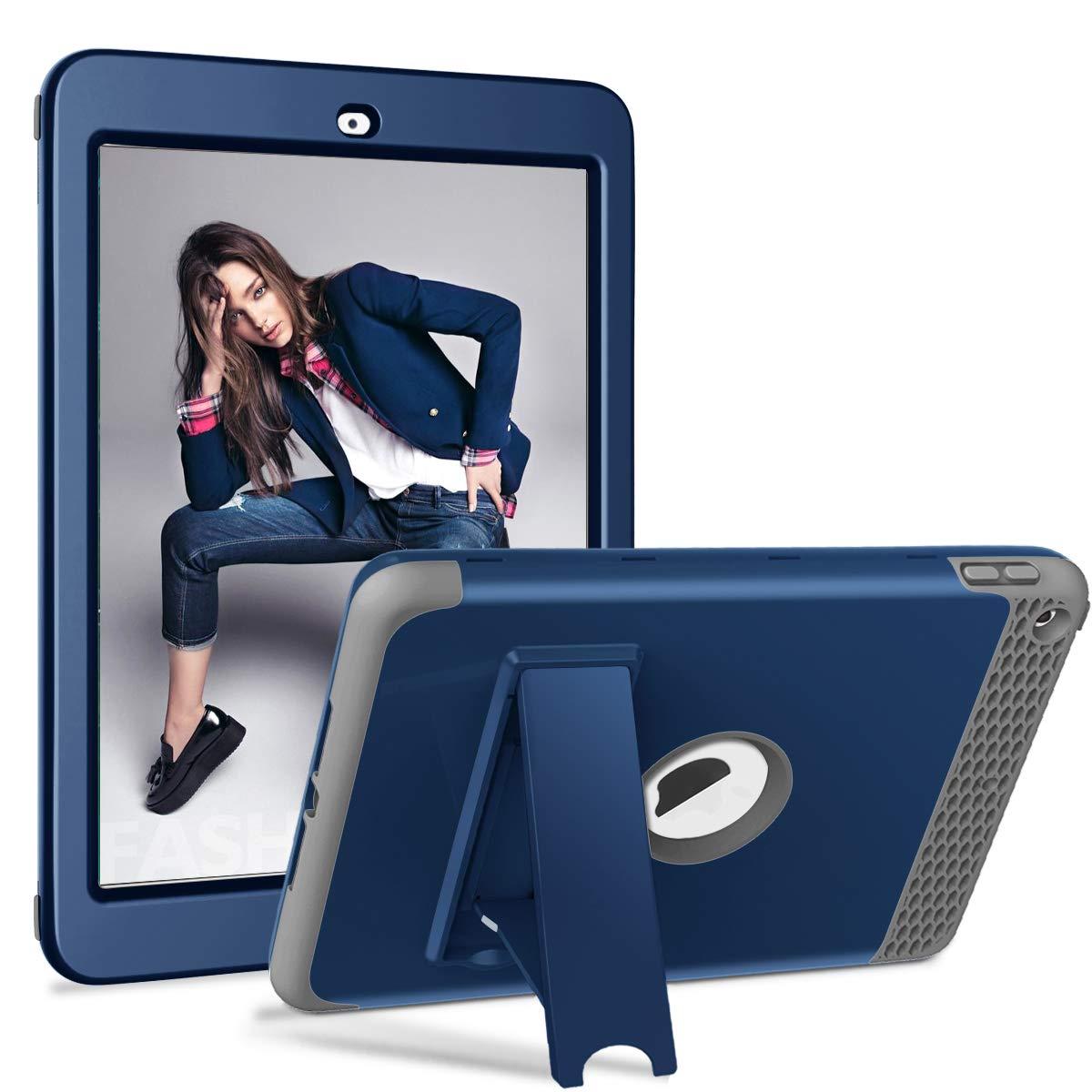 新しい JZC iPad 第5世代 ブルー/第6世代用ケース スリムフルボディ保護カバーケース iPad 頑丈な耐衝撃ケース JZC iPad A1893 A1954 A1822 A1823用 NewiPad-FWPM-NBlGr ブルー B07L8ZKW57, 広田村:66a85c22 --- a0267596.xsph.ru