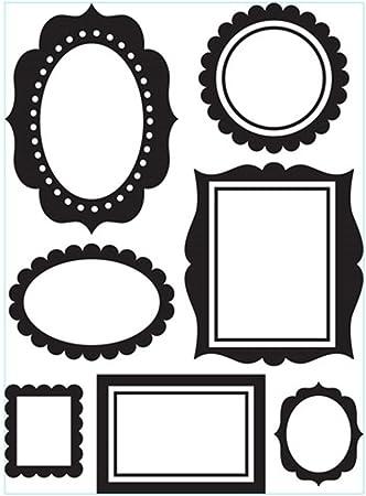 Darice 1219-104 Classeur de gaufrage Plastique Transparent 10,8 x 14,6 x 0,3 cm EB12-19104