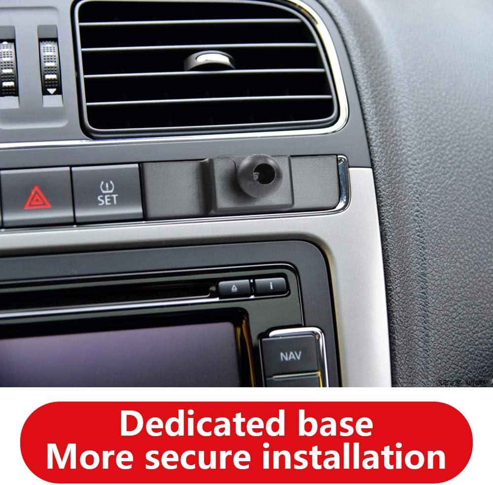 LUNQIN Car Phone Holder for Volkswagen Tiguan 2009-2017 Auto Accessories Navigation Bracket Interior Decoration Mobile Cell Phone Mount