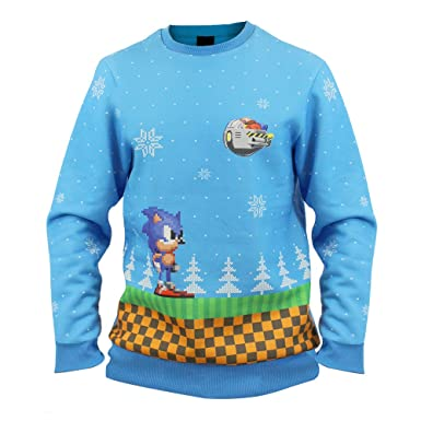 Official Sonic Green Hill Zone Christmas Jumper / Ugly Sweater ...