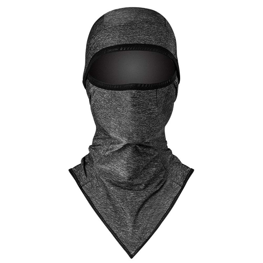 WSYHXMMask Ice Silk Hood Riding Sunscreen Mask Full Face Summer Outdoor Bicycle Fishing Men and Women Equipment Outdoor Balaclava mask (Color : A)