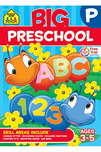 Preschool Workbook School Zone Staff product image