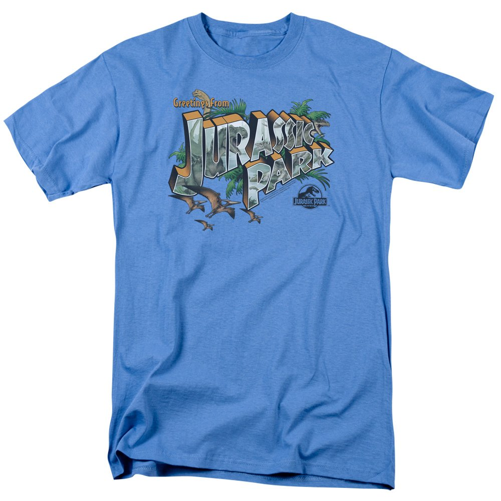 Greetings From Jp T-Shirt Size 5XL Jurassic Park