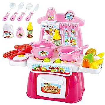 Buy Kids Kitchen Set Pretend Play Kitchen Cookware For Kids Kitchen
