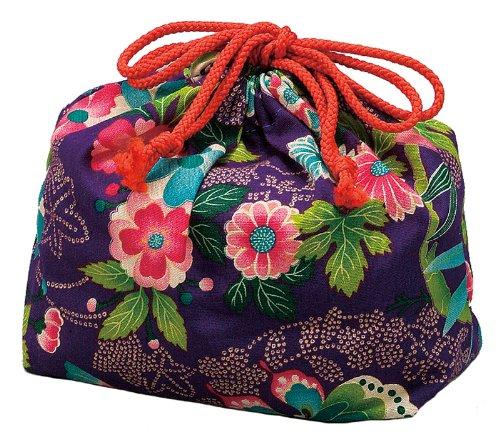 HAKOYA drawstring bag paradise purple 53 817
