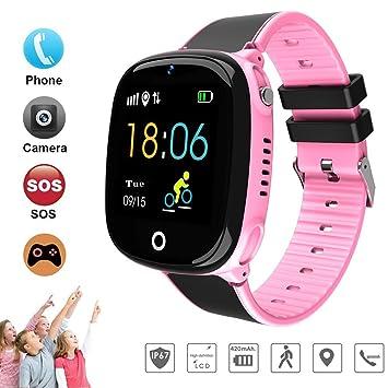 ITwood Niños Inteligente Relojes, GPS Kids SmartWatch con Camara ...
