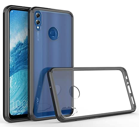 Case Collection Cubierta Bumper para Huawei Honor 8X Fundas de Transparente ultradelgada con protección Lateral Frame