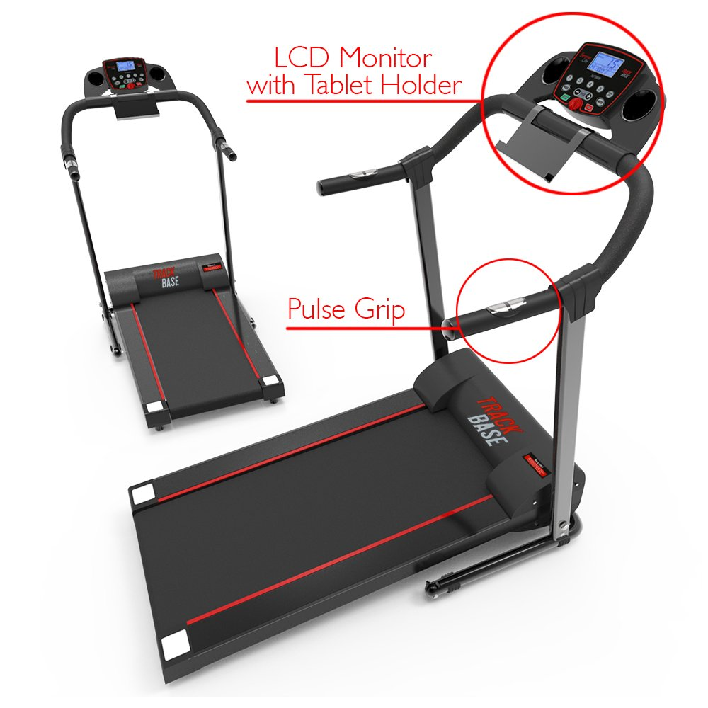 SereneLife Smart Digital Folding Exercise Machine - Electric Motorized Treadmill with Downloadable Sports App for Running & Walking - Pairs to Phones, Laptops, & Tablets via Bluetooth - SLFTRD18 by SereneLife (Image #8)