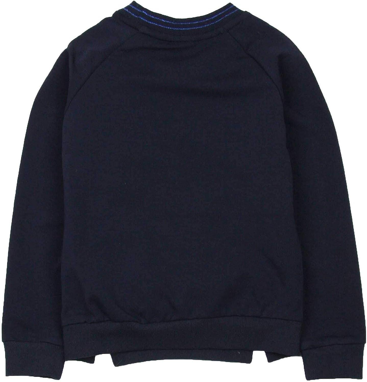 Sizes 6-14 Dress Like Flo Girls Sweatshirt with Fake Fur Front