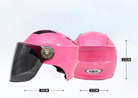 GG Cascos de Moto Cascos de Verano Cascos Cascos Eléctricos Protección UV Sombreros para el Sol