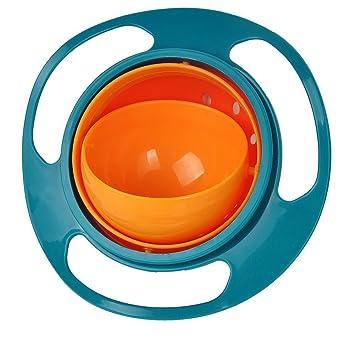 Inhdbox Kinder Baby Schussel Rotierend Um 360 Grad Gegen