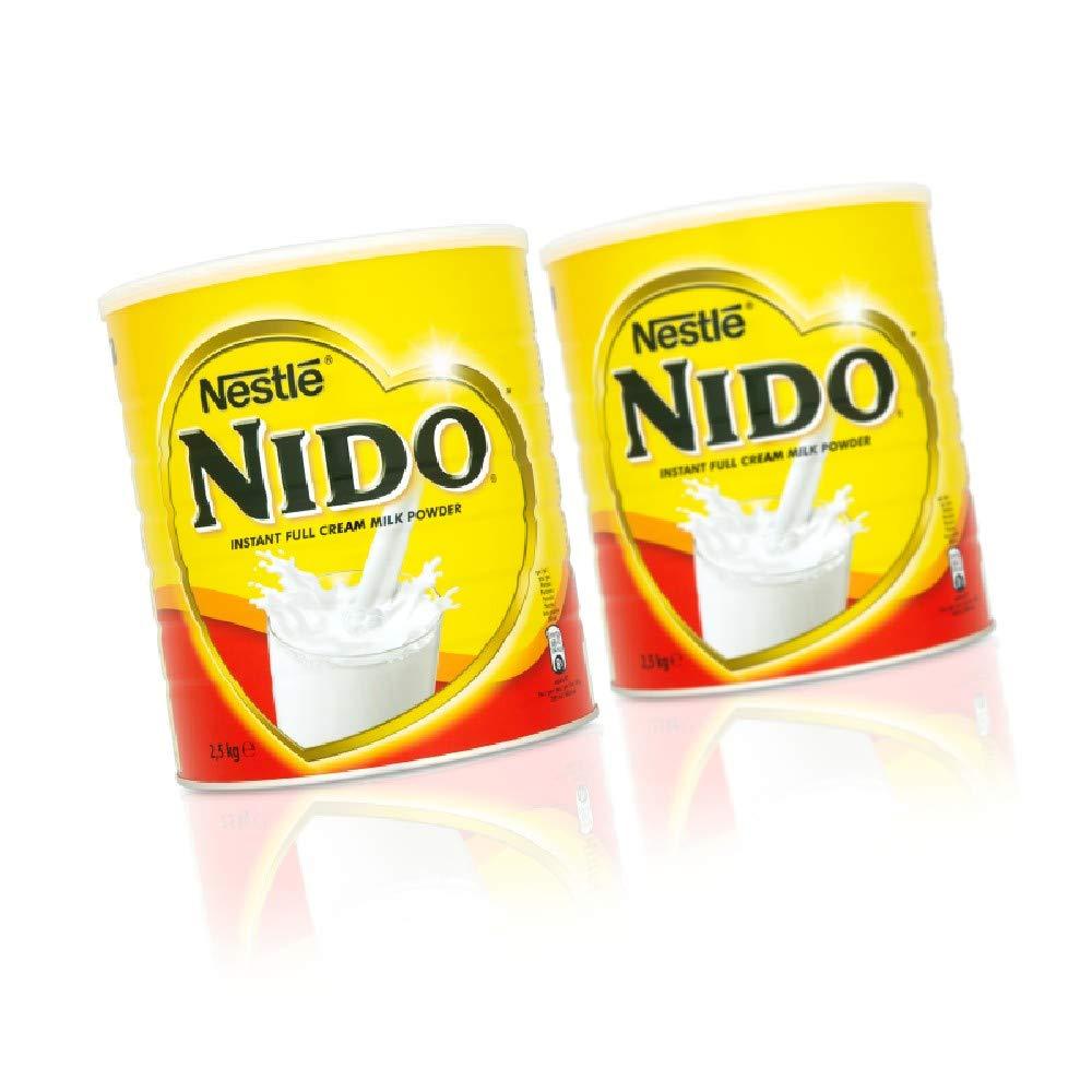 Nido Instantánea fresca Leche en polvo Crema (2,5 kg x 1 pack size): Amazon.es: Alimentación y bebidas