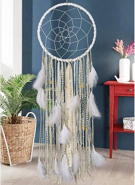 Large Dream Catcher Feather Dreamcatcher Handmade Wall Hanging Ornament Gift