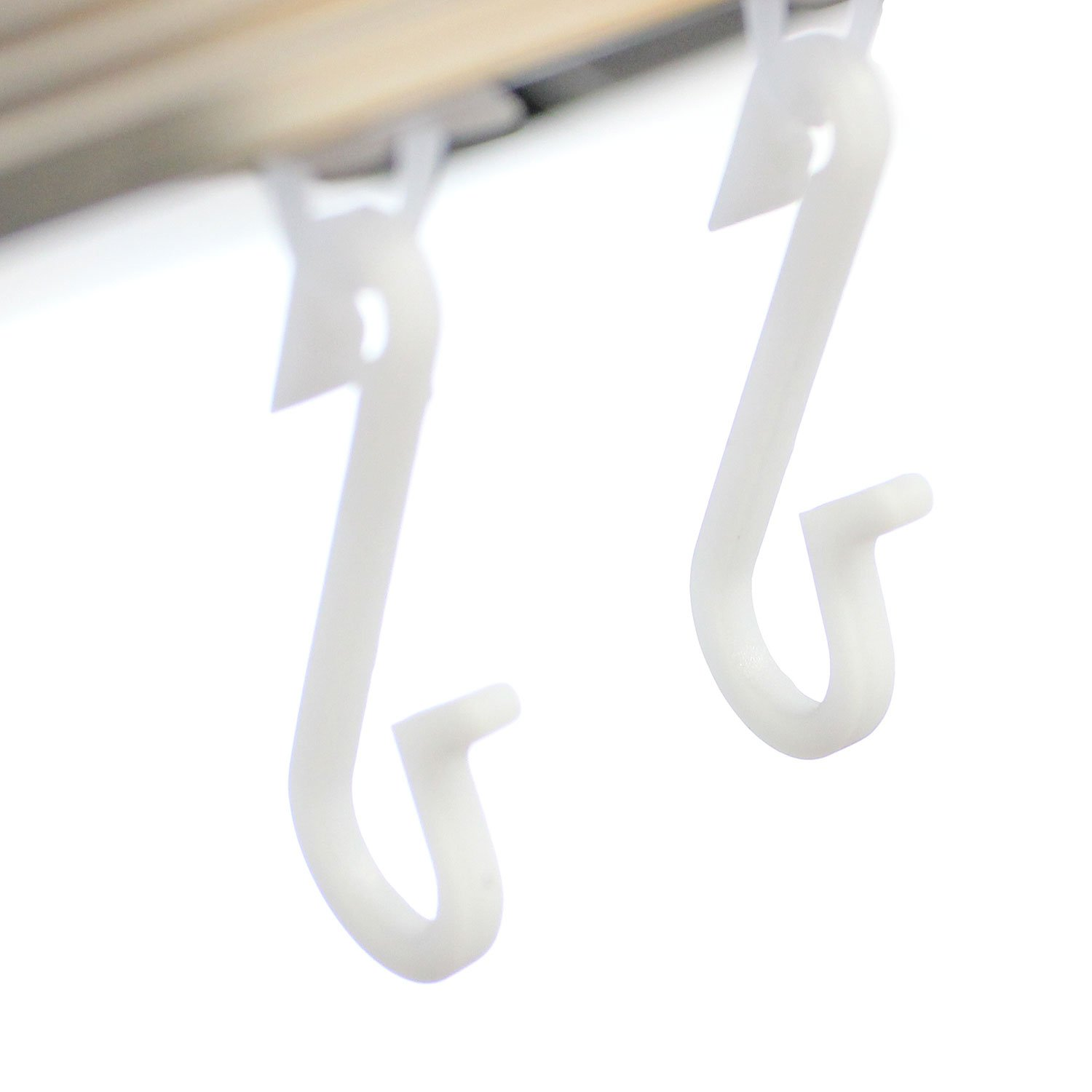 EcoSpa® 12 x Replacement Shower Curtain Hooks | Fits Glider Rail ...