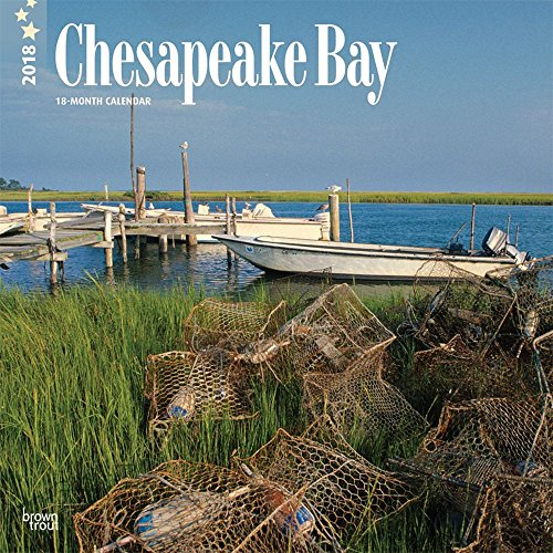 Chesapeake Bay 2018 12 x 12 Inch Monthly Square Wall Calendar, USA United States of America Scenic Nature Ocean Sea Coast