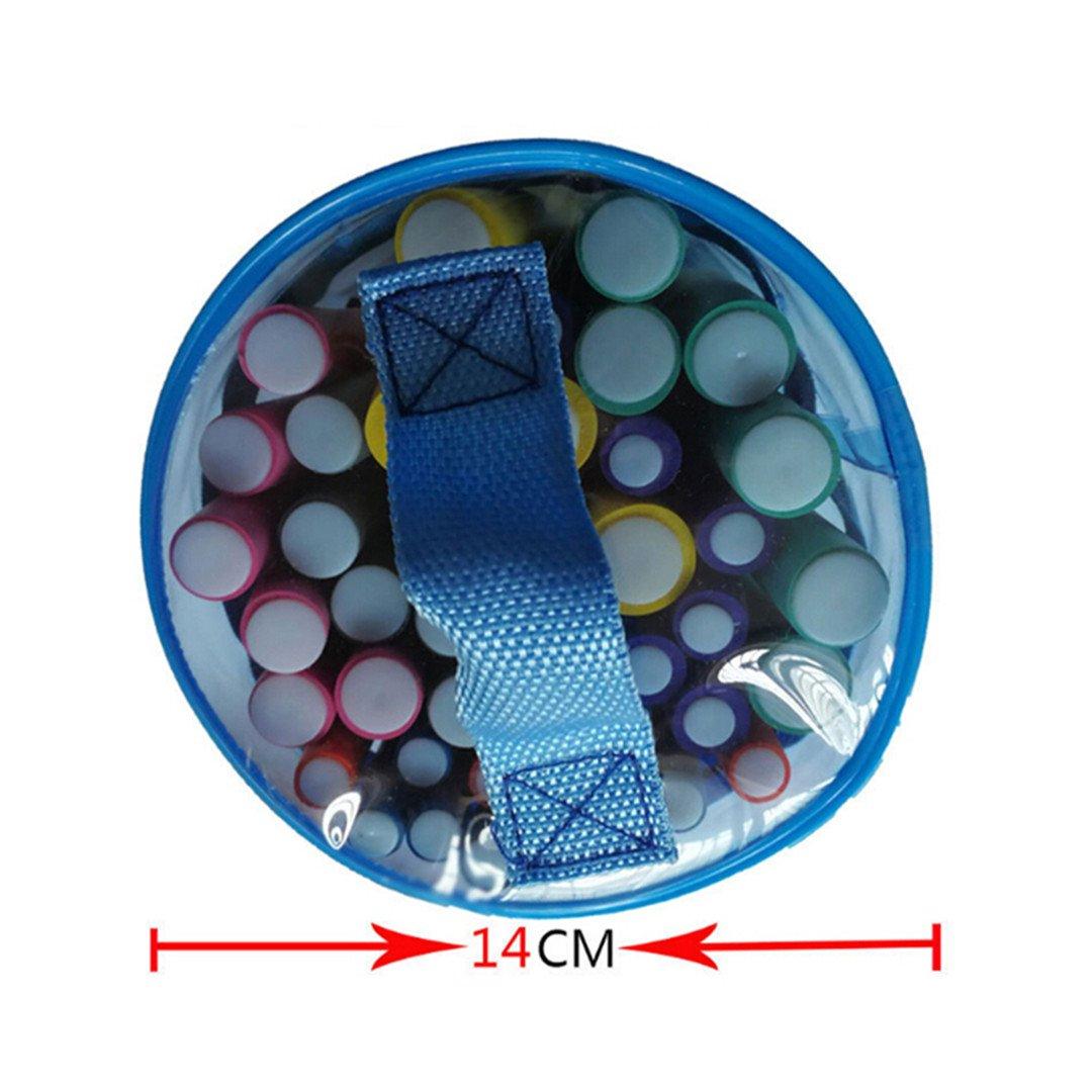 42 Pcs/Set Hair Curler Air Hair Roller Curling Sticks Soft Foam Rods Hair DIY Styling Tool by HAHUHERT (Image #3)