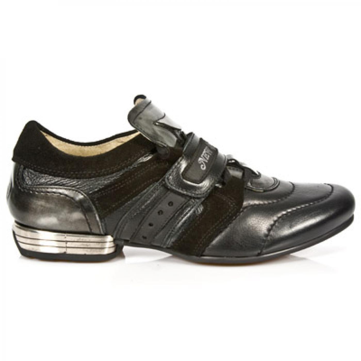 New Rock Brown Leather M 8420 C3 Men Snob Snob Custom Made