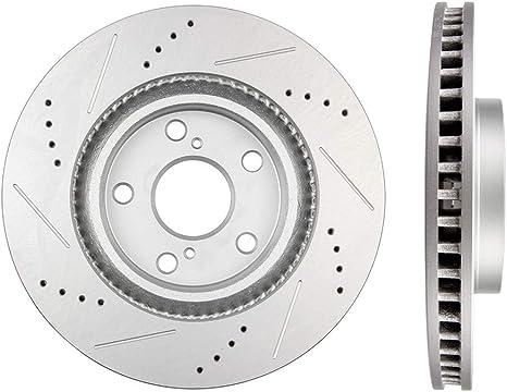 Front Brake Discs Rotors For Lexus ES350 ES300h Toyota Rav4 Avalon Camry Matrix