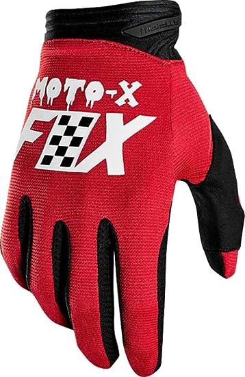 Fox Dirtpaw Long Finger Mens Glove 2018 003 Red M
