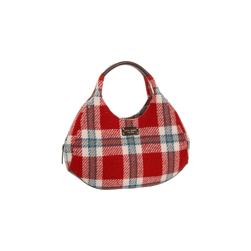 Kate Spade Ruby Park Shon Satchel,Red/Turquoise,one size