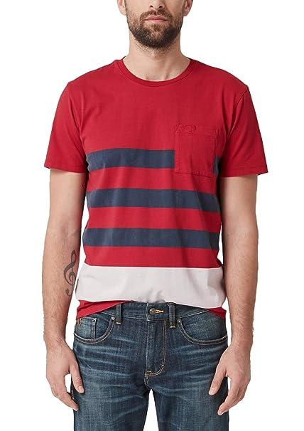 5a03b94b9 s.Oliver Camiseta para Hombre  Amazon.es  Ropa y accesorios