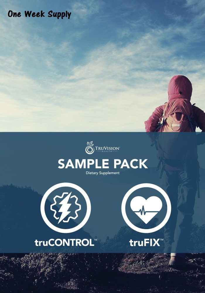 TruVision - TruFix and Control - One Week Supply - 15 Capsules Each