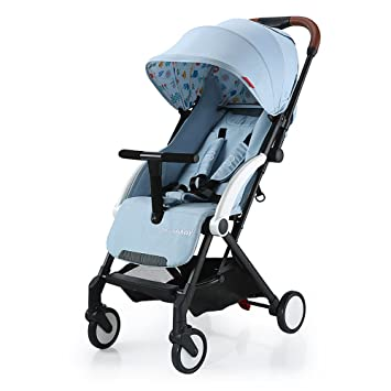 Movker Baby Lightweight Foldable Stroller Toddler Pushchair with Sun Canopy-Light Blue  sc 1 st  Amazon.com & Amazon.com : Movker Baby Lightweight Foldable Stroller Toddler ...