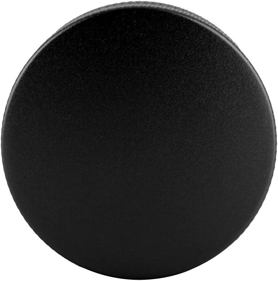 Farbe : Black Aeloa Kaffeeverteiler-Smart Coffee Tamper 58mm Sockel mit DREI abgewinkelten H/ängen Edelstahl 2 Farben