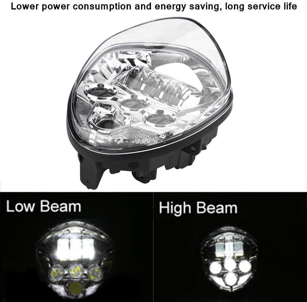 hohe Helligkeit Montage-Arbeitsscheinwerfer-Set f/ür Victory 60 W 6500 K LED-Motorrad-Scheinwerfer