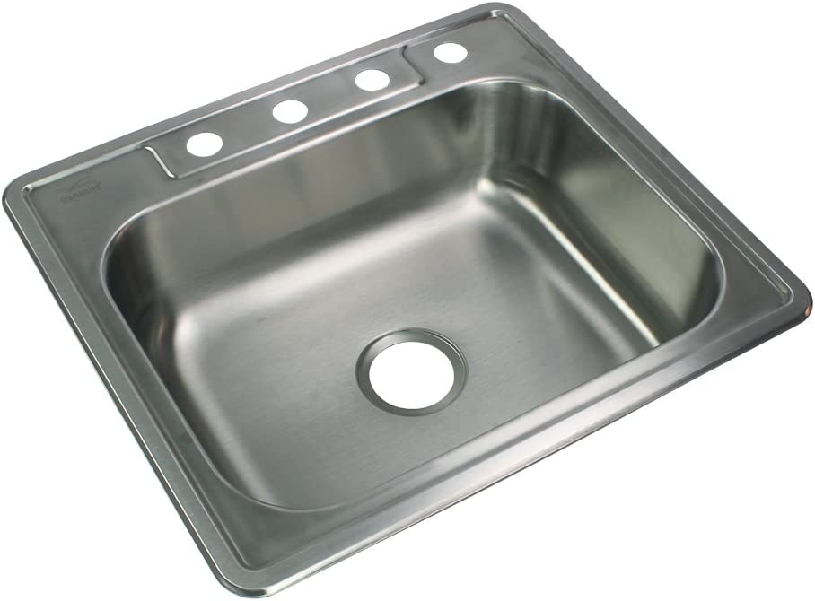 Max 80% OFF Transolid STSB25226-4 Kitchen Sink 22 Quality inspection 1 25