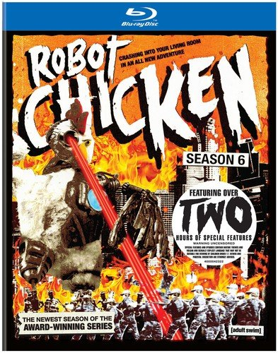Robot Chicken: Season Six (Ultraviolet Digital Copy, Dolby, AC-3)