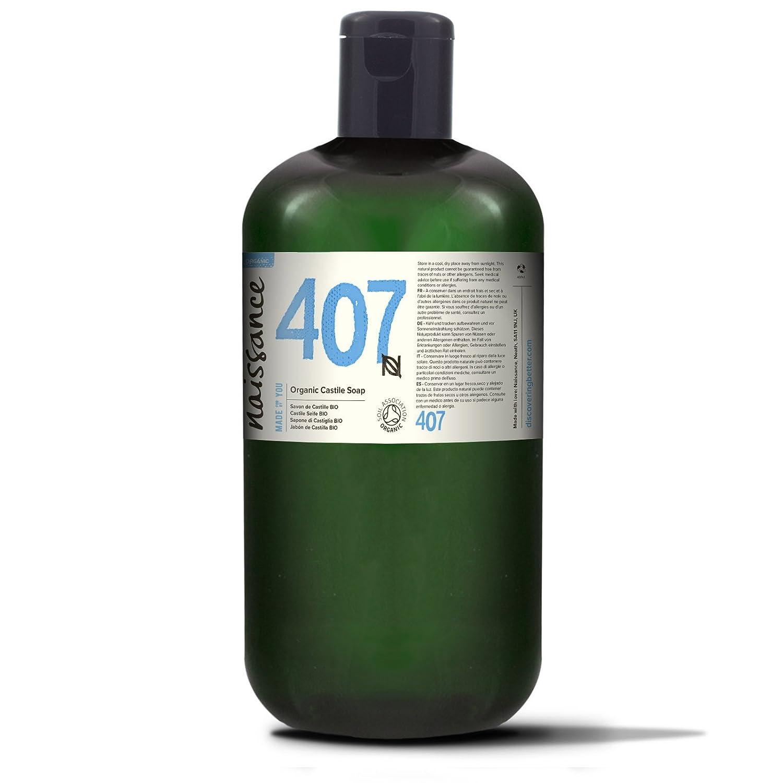 Naissance Jabón natural de Castilla BIO líquido 1 Litro – Vegano, sin perfumes ni sulfatos. 5055890616973