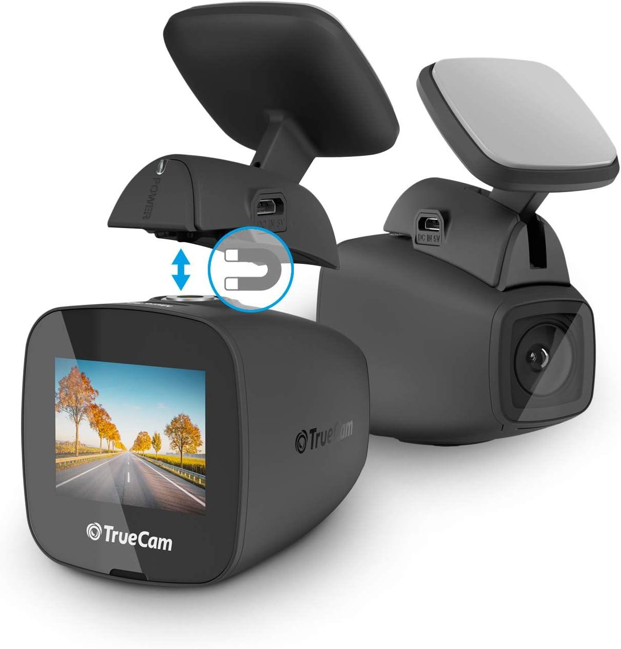 Truecam H5 Full Hd Dashcam Auto Kamera Videoregistrator Für Auto Full Hd 1080p Autokamera Dash Cam Mit Wi Fi Nachtsicht G Sensor Gps Optional Bewegungserkennung Loop Videoaufzeichnung Heimkino Tv