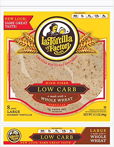 La Tortilla Factory Tortilla Flour Whlwht Lrg
