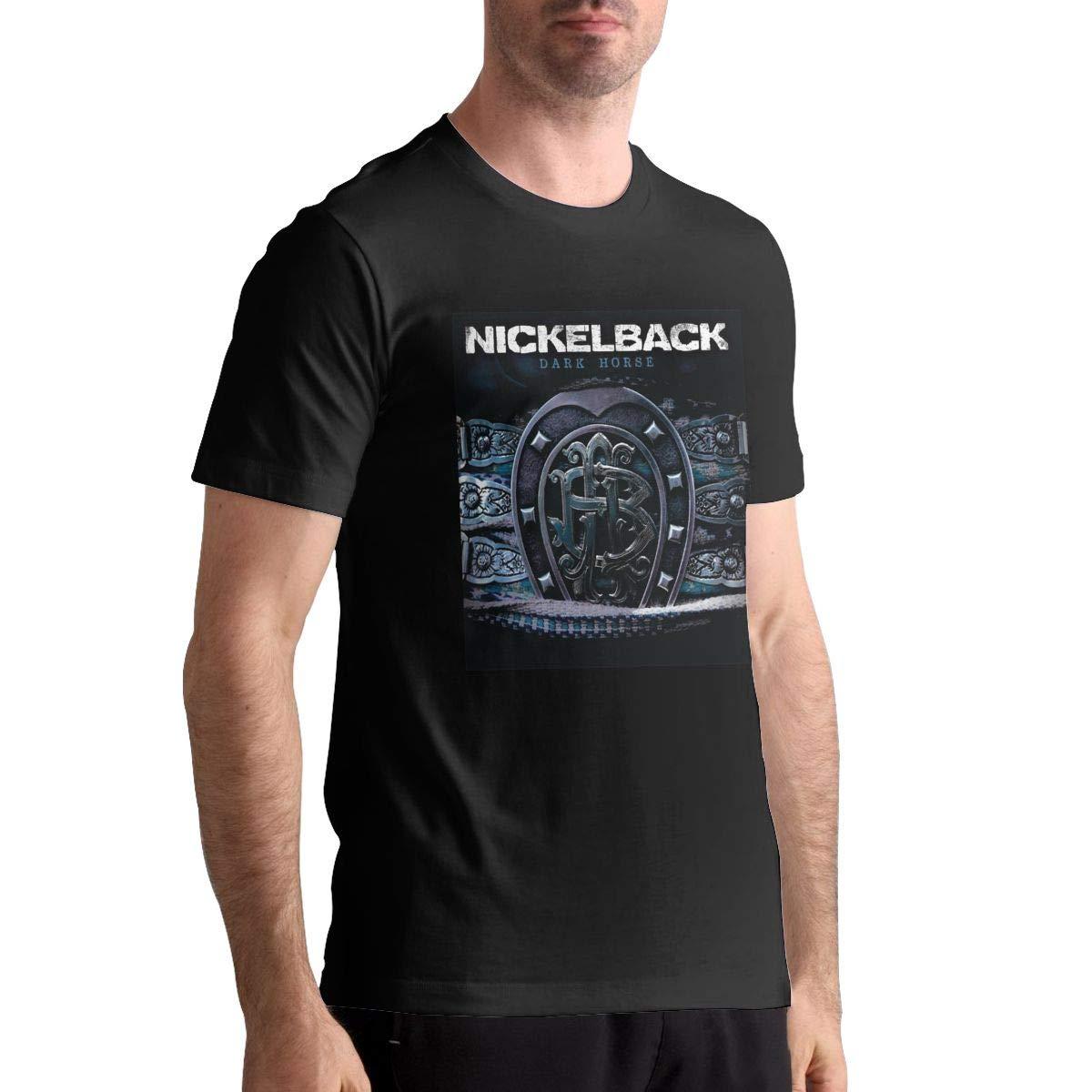 Nickelback Dark Horse Mans Music Short Sleeve T Shirt