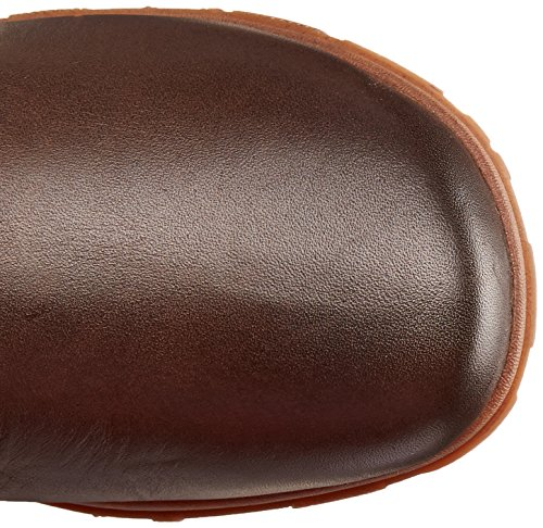 Moerassen Vrouwen Bobby Lang Waterdicht Leer Boot Cacao