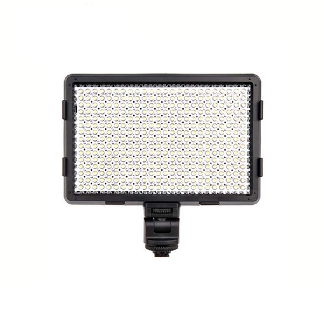 人民の東の道 カメラのビデオライトは、キヤノン、ニコン、ペンタックス、パナソニック、ソニー、三星、オリンパス一眼レフカメラ用のLEDライト (色 : ブラック)  ブラック B07QPLG651