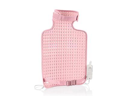 Silvercrest Cuidado personal espalda & Cuello Calefacción Pad en color rosa