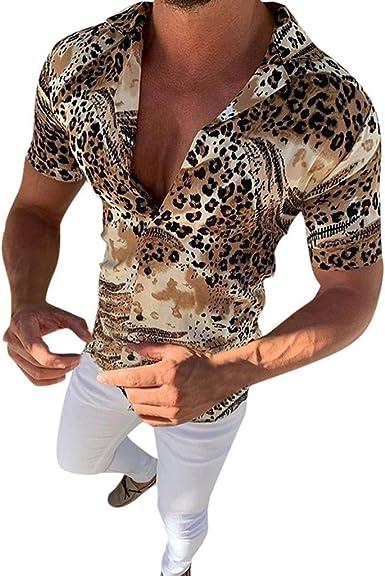 Ericcay Ropa Camisas Camisa De Hombre Casual para Hombre ...