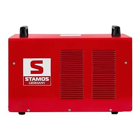 Stamos Germany S-AC200P BASIC Soldador TIG Soldadura Inverter Soldador Aluminio Equipo de Soldadura TIG MMA AC/DC (200 A, 230 V, Puls, Hot Start, ...