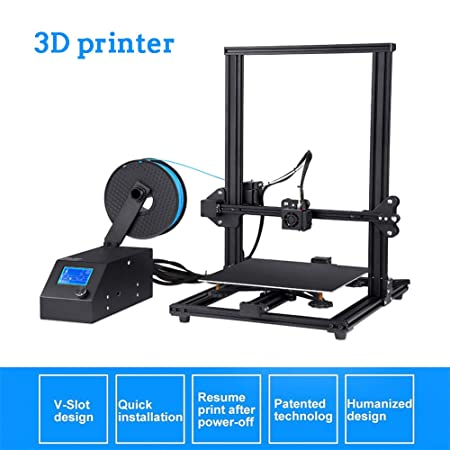 QinLL Impresora 3D, con Pantalla de 3,2 Pulgadas, tamaño de ...