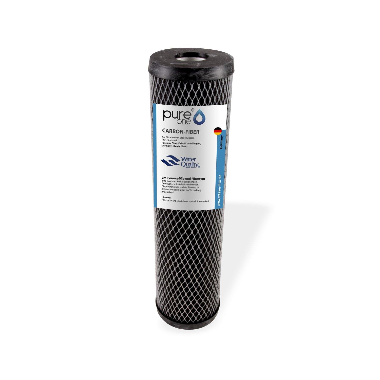 acquedotto domestico e stagni alloggiamento per filtri dacqua da 10/pollici per fontane filtro di sedimento non tessuto in carbonio lavabile cisterna varie finiture cartuccia filtrante in fibra di carbonio PureOne