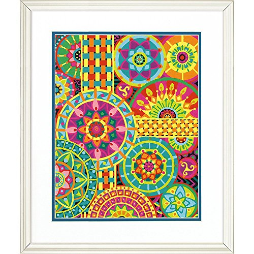 Dimensions Paint Works Paintworks Mandala Montage Paint By Number Kit  73 91542