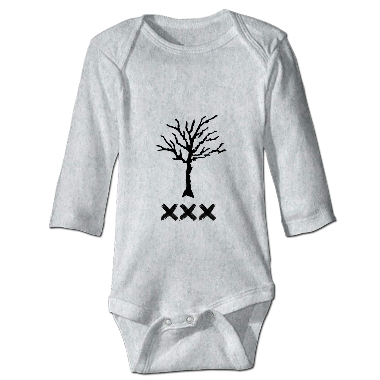 YSKHDBC Baby Infant Boys Girls Fun Print Bodysuit I Love You Mom
