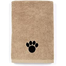 DRI Ultra Absorbent Microfiber Pet Towel (X-Large (55 Inch by 28 Inch), Brown)