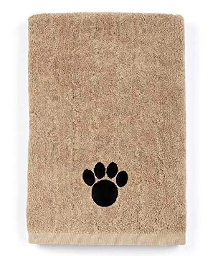 DRI Ultra Absorbent Microfiber Pet Towel (Large (40 Inch by 28 Inch), Brown)