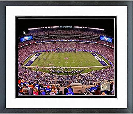 3482e120552 Amazon.com: New York Giants MetLife Stadium Photo (Size: 12.5
