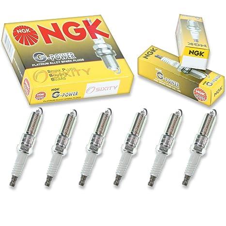 Amazon.com: NGK G-Power 6pcs Spark Plugs Chrysler Sebring 01-10 2.7L V6 Kit Set Tune Up: Automotive
