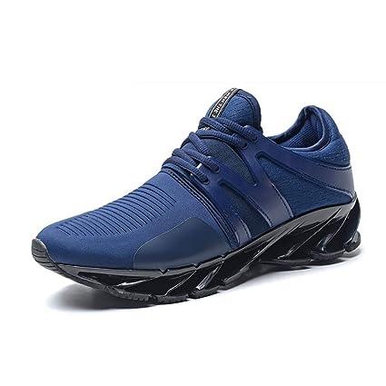 451dec7ed91d Amazon.com : Man's Shoes Knit Breathable Sport Shoes Running Sneaker ...