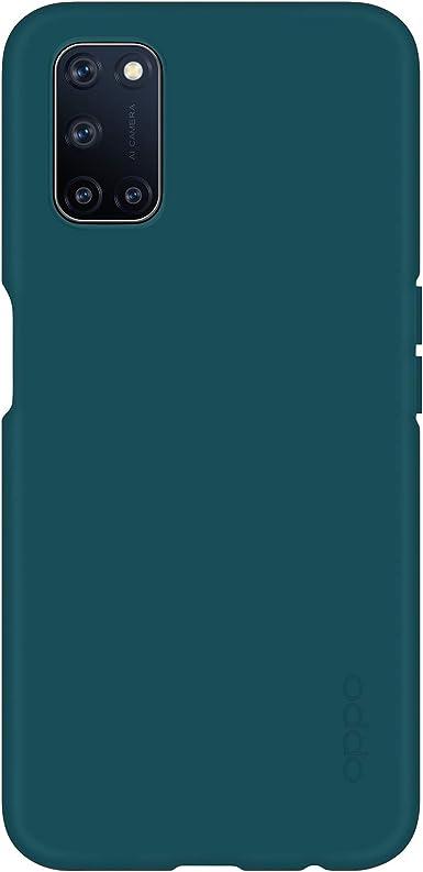 Oppo Schutzhülle Liquid Silicon Case Tpe Passend Für Oppo A52 Und A72 Grün Elektronik